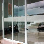 Faixa Jateada anti-impacto para vidros Krusher