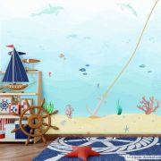 Mural Fundo do Mar