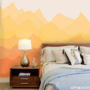 Mural Pôr do Sol