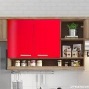 Outlet - Adesivo para móveis Brilhante Vermelho Tomate 0,61m
