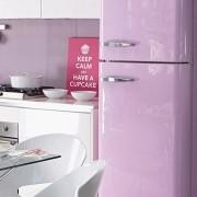 Outlet - Adesivo para móveis Laca Alto Brilho Violeta 0,50X1,30m