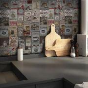 Outlet - Papel de Parede Vintage Breakfast 0,58x2,00m