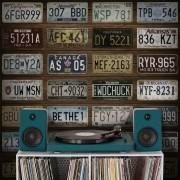Outlet - Papel de Parede Vintage Placa Automotiva 0,58x2,70m