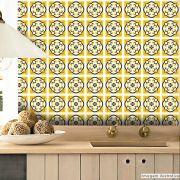 Papel de Parede Azulejo para Cozinha Évora