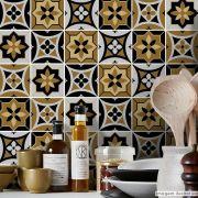 Papel de Parede Azulejo para Cozinha Funchal