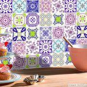 Papel de Parede Azulejo para Cozinha Lisboa