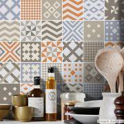 Papel de Parede Azulejo para Cozinha Sintra