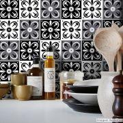 Papel de Parede Azulejo para Cozinha Tortosa - Várias Cores