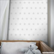 Papel de Parede Estrelas - Várias Cores