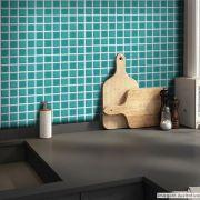 Papel de Parede Pastilha para Cozinha 3D - Várias Cores