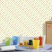 Papel de Parede Poá Color - Várias Cores