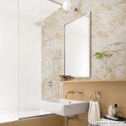 Papel de Parede Lavavel para Banheiro Cozinha Revestimento Fosco Mármore Cobogó