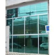 Outlet - Pelicula para vidro espelhada Azul Royal 0,75m