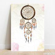 Placa Decorativa Apanhador de Sonhos