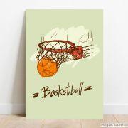 Placa Decorativa Basket