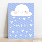 Placa Decorativa Bebê Sweet