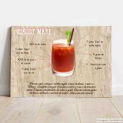 Placa Decorativa Bloody Mary