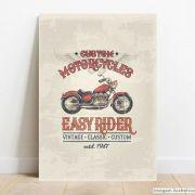 Placa Decorativa Easy Rider