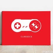 Placa Decorativa Gamer