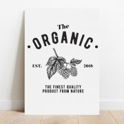 Placa Decorativa Organic