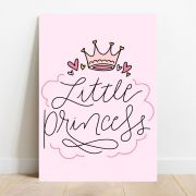 Placa Decorativa Princess
