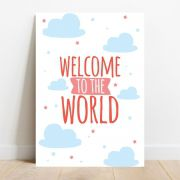 Placa Decorativa Sweet World