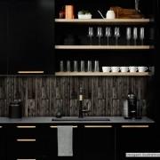 Promoção - Papel de Parede Lavavel para Banheiro Cozinha Revestimento Fosco Madeira Guajuvira