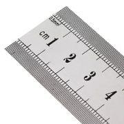 Régua de Aço 30cm e 60cm