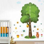 Régua de Crescimento Infantil Abelhas