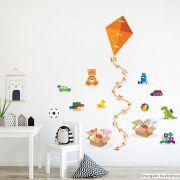 Régua de Crescimento Infantil Brinquedos