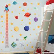 Régua de Crescimento Infantil Espaço Sideral