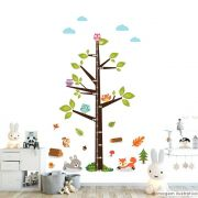Régua de Crescimento Infantil Floresta