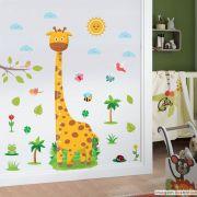 Régua de Crescimento Infantil Girafa
