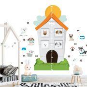 Régua de Crescimento Infantil Hotel de Cachorros