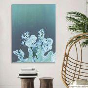 Tela Decorativa Coral