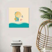 Tela Decorativa Praia