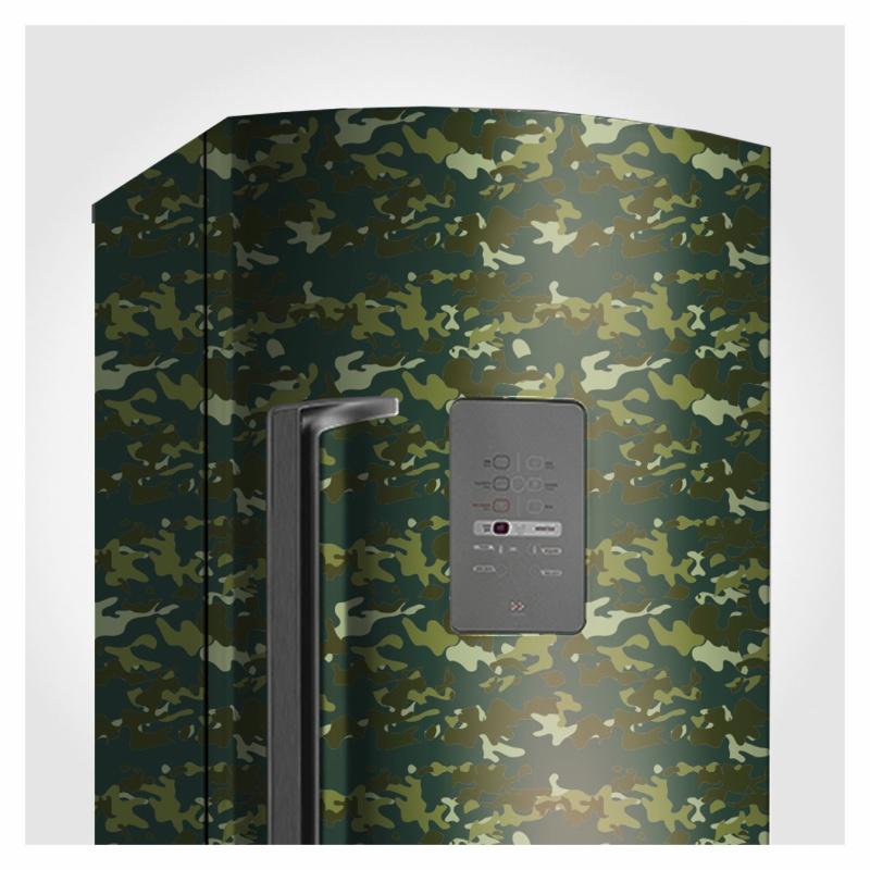 Papel de Parede Camuflado Verde Militar