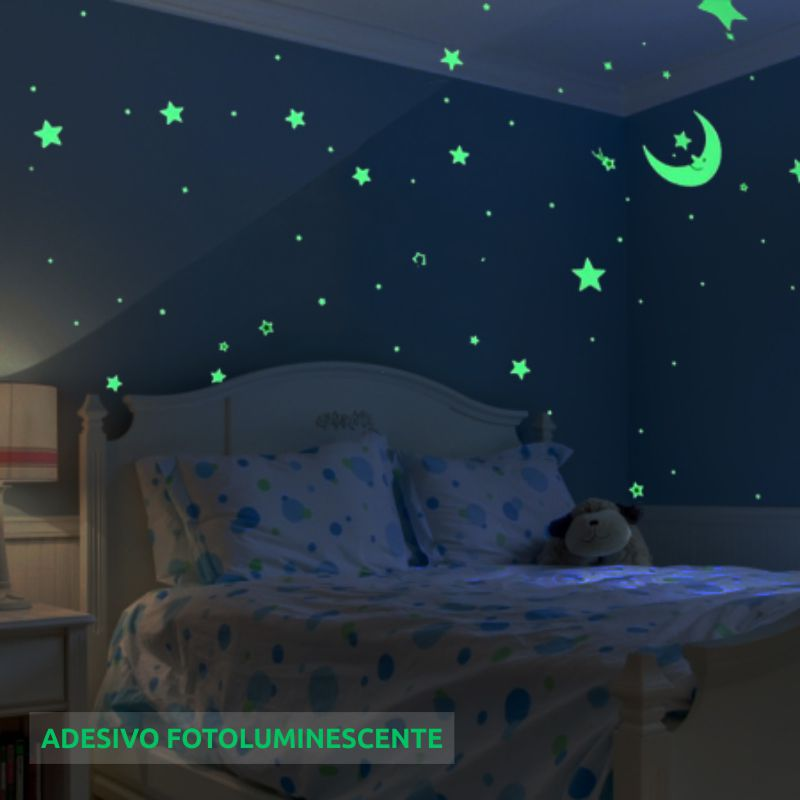 Adesivo Fotoluminescente