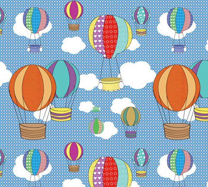 Outlet - Adesivo Decorativo Balões 0,45 x 2,00m  - TaColado