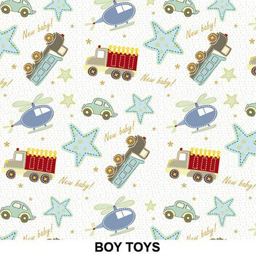 Outlet - Adesivo Decorativo Boy Toys 0,45 x 2,00m  - TaColado