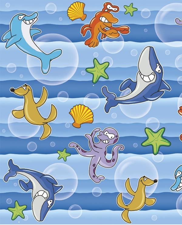 Adesivo Decorativo Oceano 2  - TaColado