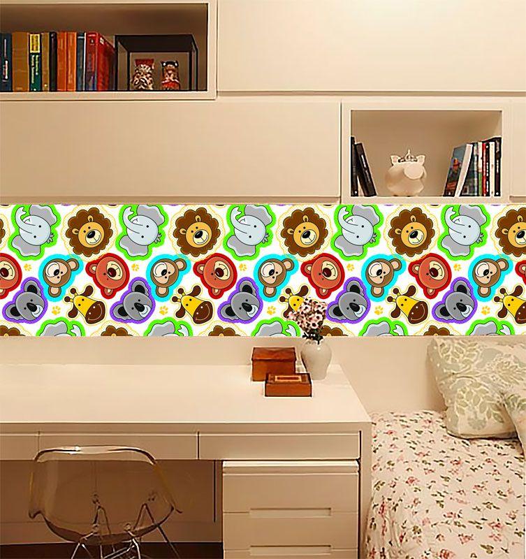 Adesivo para móveis Decorativo Zoo 3