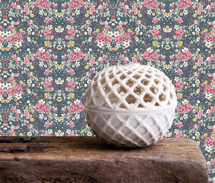 Tecido Adesivo Decorativo Primavera  - TaColado