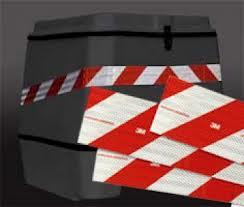 Faixa Refletiva para Baú de Moto - 5cm x 75cm  - TaColado