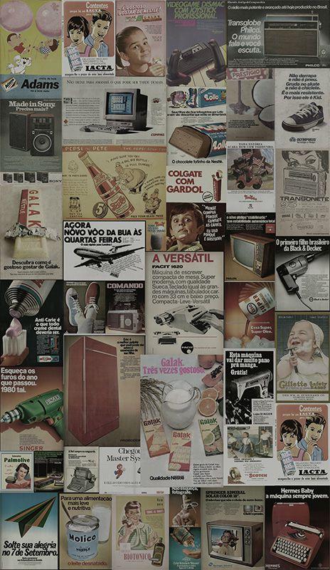 Papel de Parede Revistas Vintage  - TaColado