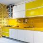 Adesivo para Vidros Transparente Amarelo 1,06m