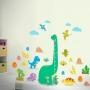 Régua de Crescimento Infantil Dinossauros