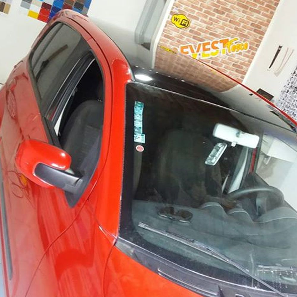 Adesivo para envelopamento automotivo Alltak Ultra Gloss Spicy Red 1,38m  - TaColado