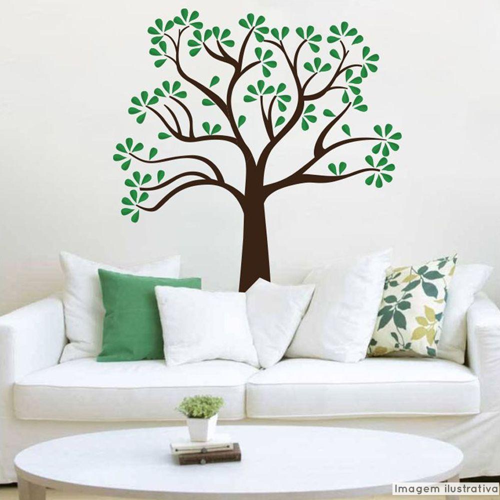 Adesivo Árvore Cedro  - TaColado