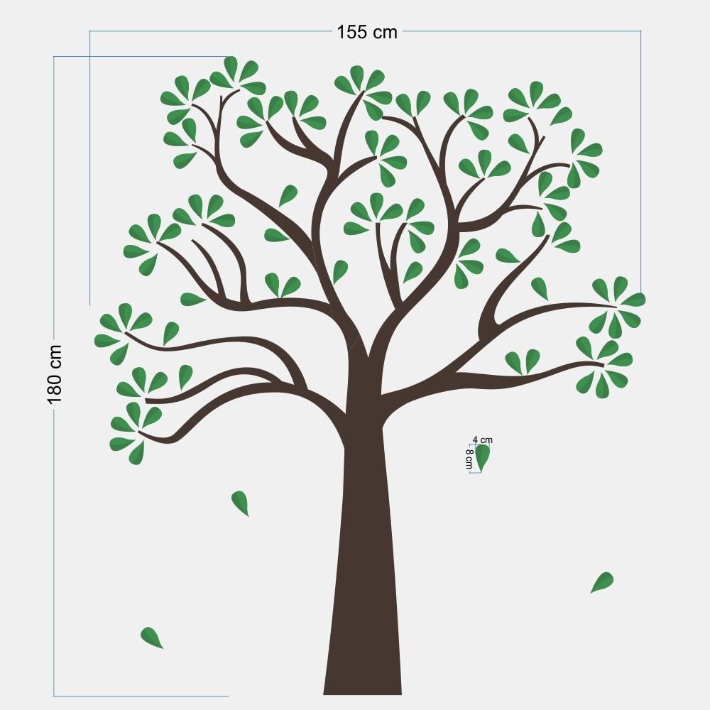 Promoção - Adesivo Árvore Cedro 0,58x3,00m  - TaColado